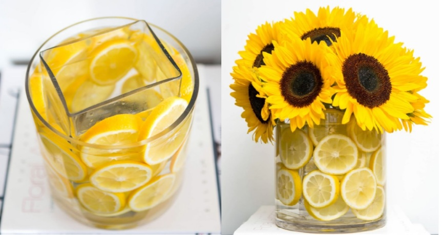 Sun flower Vase