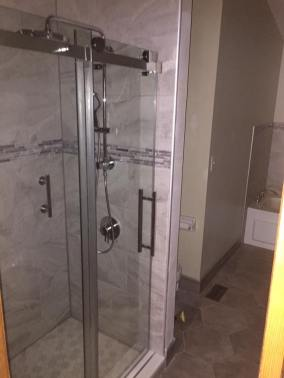 glass-shower-for-bathroom-remodel